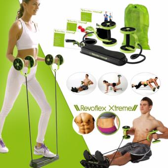 Harga Revoflex Xtreme Re-Strengthening Workout Gym Rope/ Wheel