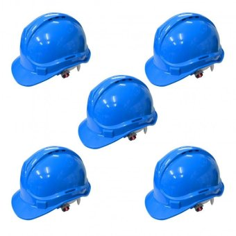 Powercraft OSHC ANSI Certified Safety Helmet (Blue) Set of 5 Price Philippines