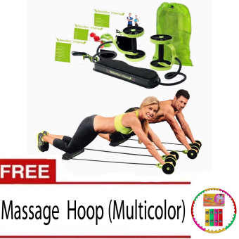 Harga Revoflex Xtreme (Green)with free Massage Weighted Hula Hoop (Multicolor)