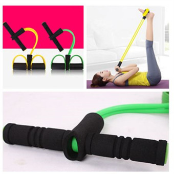 Yoga Resistance Multifunction Double Band Tube Stretch Body Fitness Sit-up Muscle Lose Weight WorkoutExercise - intl Price Philippines