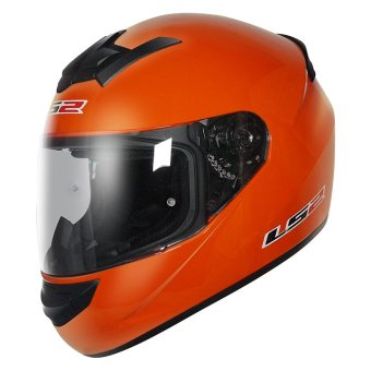 Harga LS2 Full-Face FF352 Rookie Helmet (Orange)