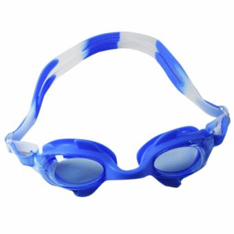 Fashion Unisex Swimming Goggles For Kids - AK5-300 Sky Blue Price Philippines