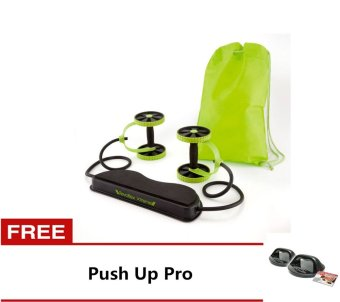 Harga Revoflex Xtreme Muscle Toning Kit (Green) With Free Push Up Pro