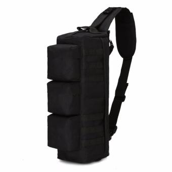 WATERPROOF ARMY SLING BAG / MENS BAG / AKL-B11 PIERSON [BLACK] Price Philippines