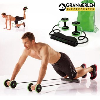 Harga For Fast Build ABS Our Best Revoflex Extreme (Black/Green)