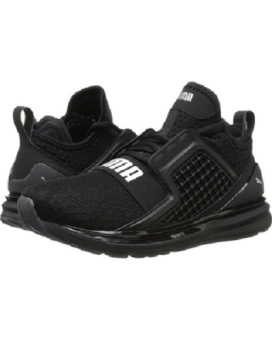 Harga PUMA Ignite Limitless/NRGY Limitless Shoes (Black/Asphalt)