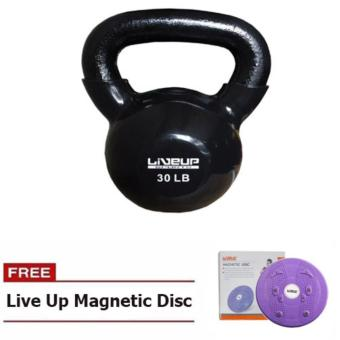 Harga Live up Kettlebell 30lbs with Live Up Magnetic Disc