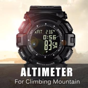 Harga NORTHEDGE Digital Watches Men Wrist Watch with Weather forecast Altimeter Barometer Thermometer Altitude Pedometer for Climbing Hiking Fishing Running Outdoor Sports