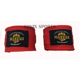 MP Manny Pacquiao Elastic Handwraps 5 Meters (Red) Price Philippines