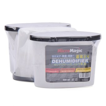 MicroMagic Dehumidifier 450ml (4 Bundles of a Pack of 3) Price Philippines
