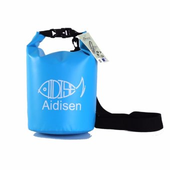 Harga SEALHIKE Waterproof Nautical Dry Beach Bag - 5L Blue