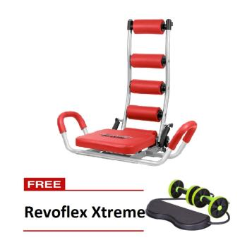 Harga Ab Rocket Twister Exercise Equipment (Red) with FREE Revoflex Xtreme