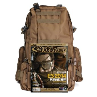 50L Molle 3D Assault Tactical Outdoor Military Rucksacks Backpack Camping Bag Mud Color Price Philippines