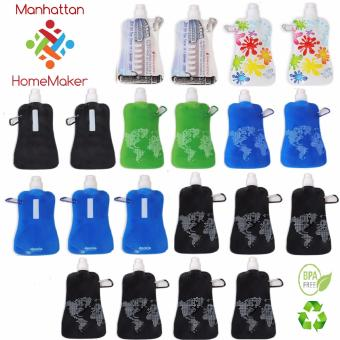 Harga Manhattan Homemaker Eco-Friendly Collapsible Water Bottle Set of 20
