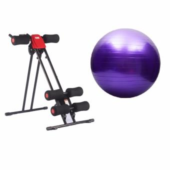 Ab Glider (Red) with Gym Ball (Purple) Price Philippines