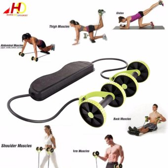 Harga Home Total Body Fitness Gym Revoflex Xtreme Abs Trainer Resistance Exercise