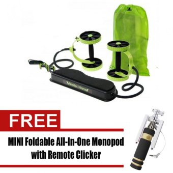 Harga Revoflex Xtreme Muscle Toning Kit (Light Green) with free MINI Foldable All-In-One Monopod with Remote Clicker (Black)