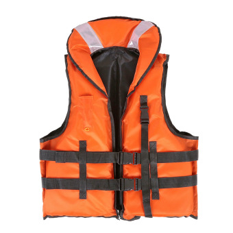 LIXADA Professional Polyester Adult Safety Life Jacket Survival Vest Swimming Boating Drifting with Emergency Whistle Price Philippines