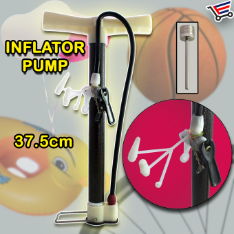 Harga Portable Air Pump Inflator Pump with Inflation Pin 37.5cm