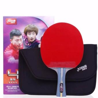 DHS R4002C Professional Quick-attack Carbon Table Tennis Racket Shake-hand (Long) Price Philippines