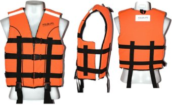 LIFE VEST Aqualife Lifevest PFD (Orange) Price Philippines