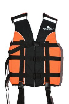 Life Vest AQUALIFE Heavy Duty PFD (Orange) Price Philippines