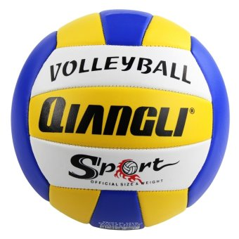 Harga Qiangli PVC Indoor/Outdoor Volleyball (Blue/White/Yellow)
