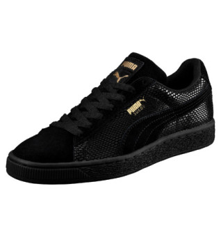 Harga Puma Suede Future is Female Women's Sneaker Shoes (Black)