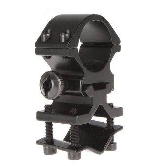 25mm Ring and 20mm Rail Mounted-flashlight Bracket (Black) Price Philippines