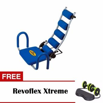 Harga AB Racket Abdominal Trainer with Free Revoflex Xtreme Resistance Workout Machine