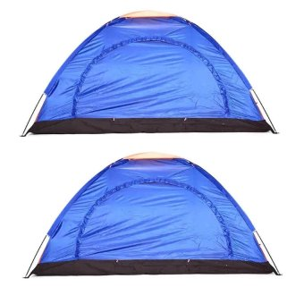 Lightweight 4 Person Camping Backpacking Tent With carry Bag set of 2 Price Philippines