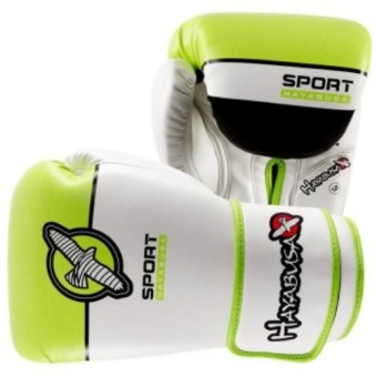 Harga Hayabusa Sport Boxing Gloves 12Oz (White/Lime Green)