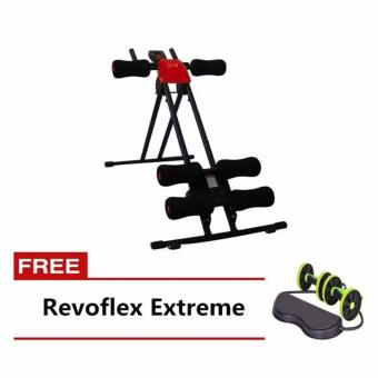 Harga Quality Ab Glider (Red) with FREE Revoflex Extreme