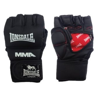 Harga Lonsdale MMA Grappling/training Gloves (Black)