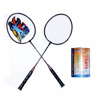 Harga SHOP AND THRIFT Best Quality Sports Badminton Racquet With Ball
