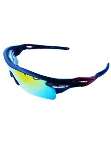 Fury Rivbos Sunglasses with Rx Clip-Ons (Black/Red) Price Philippines