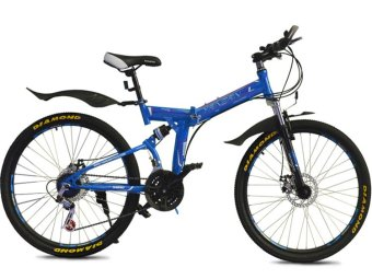 "Yan San 24""/26"" Folding Mountain Bike Foldable Bicycle 7 SP Speed Price Philippines"