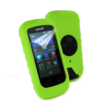Harga Silicone Gel Skin Case Cover for Garmin Edge 1000 GPS Cycling Computer in Green