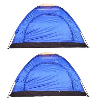4 Person Camping Backpacking Tent With carry Bag Set Of 2 multicolor Price Philippines