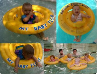 leegoal Dual Air Style Inflatable Swim Seat Ring Swim Float For Babies Kids, Yellow - intl Price Philippines