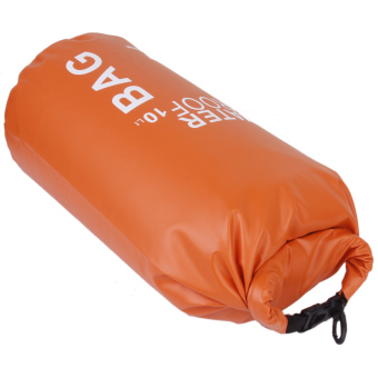 Ten L Waterproof Dry Bag Pouch Camp Boating Kayaking Rafting Canoeing Orange Price Philippines