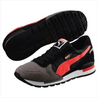 Harga Puma RX 727 MU Sneaker Sport Shoes (Steel Gray/Black/Red Blast)