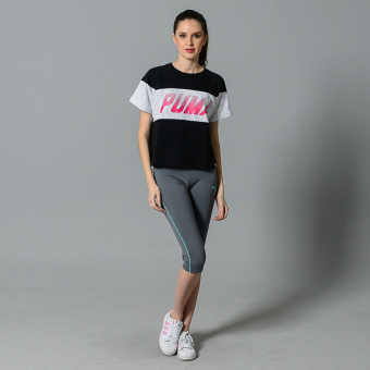 Harga Puma Speed Font Top (Cotton Black)