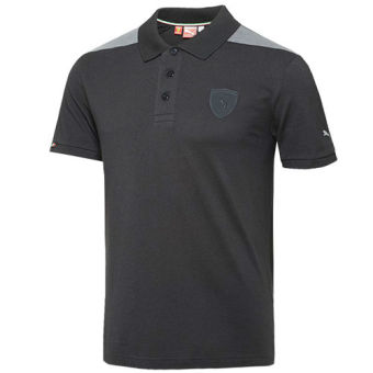 Harga Puma Ferrari Polo Lifestyle Sports Polo (Black)