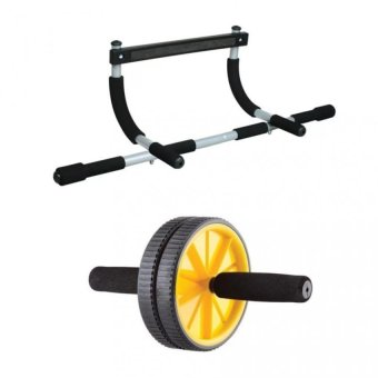 Iron Gym with AB Wheel (Yellow) Price Philippines