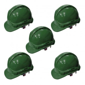 Powercraft OSHC ANSI Certified Safety Helmet (Green) Set of 5 Price Philippines