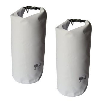 Harga HULL & STERN Waterproof Dry Bag Size 10L Set of 2 (North Star White Nouveau)