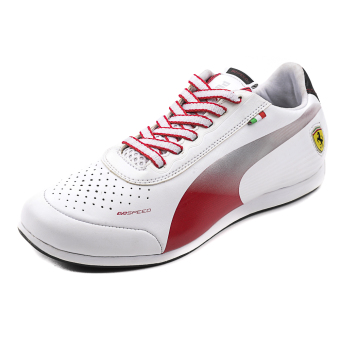 Harga Puma EvoSPEED Low SF 1.2 NM Lifestyle Sports Shoes (White/Rosso Corsa)