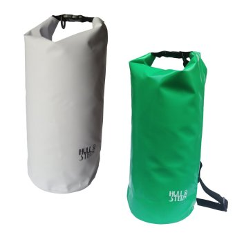Harga Hull & Stern Waterproof Dry Bag 10L Set of 2 (North Star White/Sea Foam Green Nouveau)