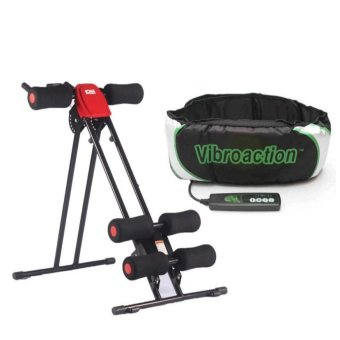 Ab Glider (Red) with Vibroaction Belt Price Philippines